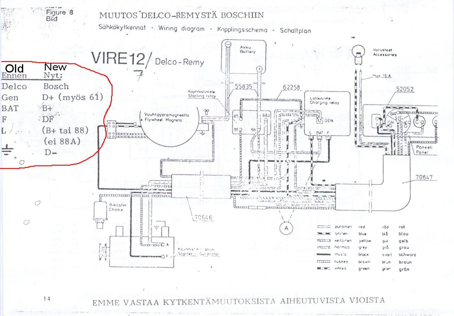 Vire 7 Starter Generator Circuit Diagrams - Starter Generator Wiring Diagram
