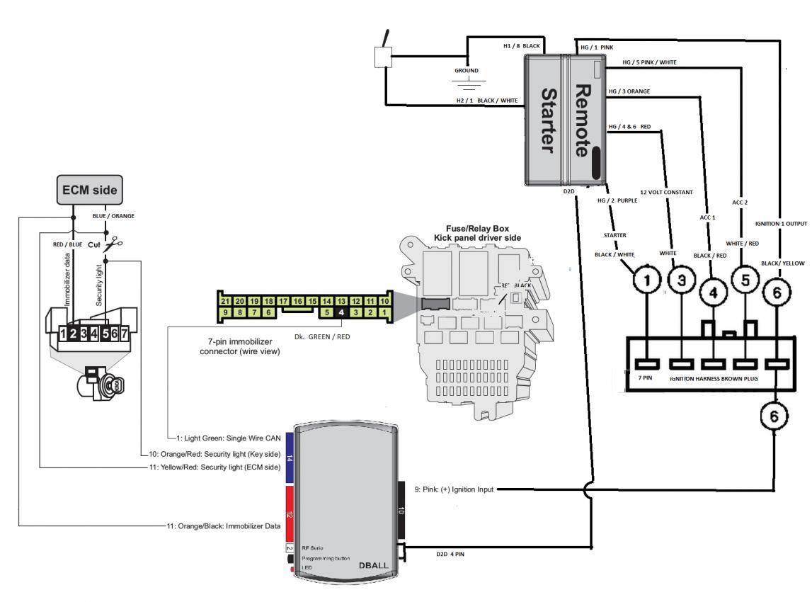 Volkswagen Remote Starter Diagram - All Wiring Diagram Data - Bulldog Remote Start Wiring Diagram