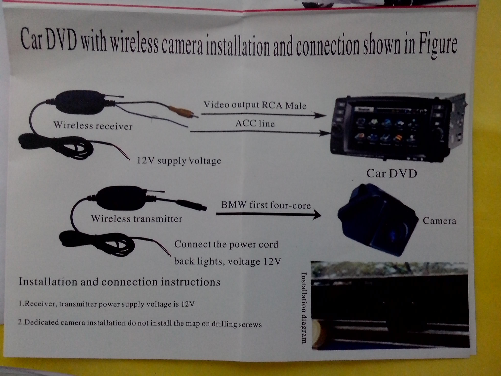 Voyager Camera Wiring Diagram | Manual E-Books - Voyager Backup Camera Wiring Diagram