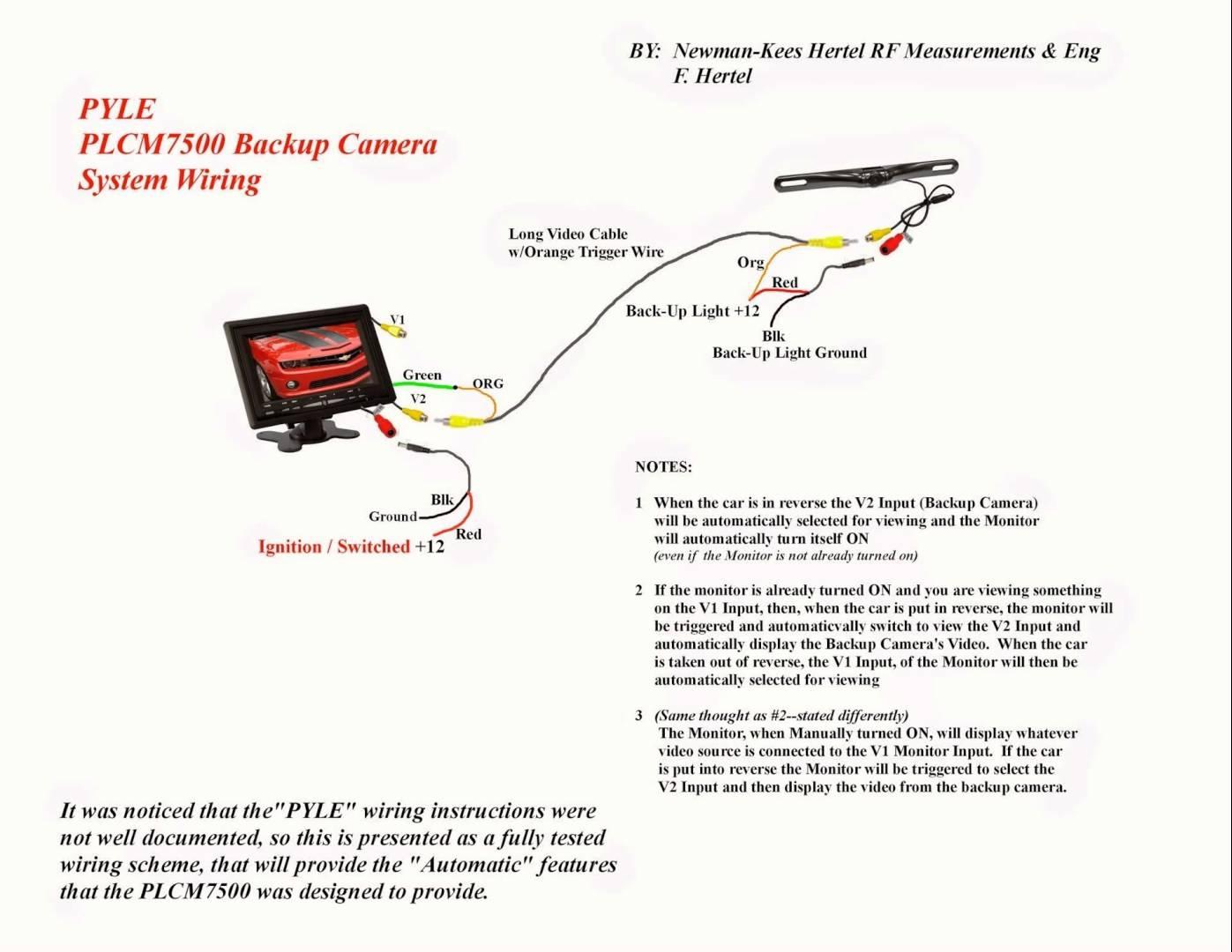 Voyager Camera Wiring Diagram | Wiring Diagram - Voyager Backup Camera Wiring Diagram