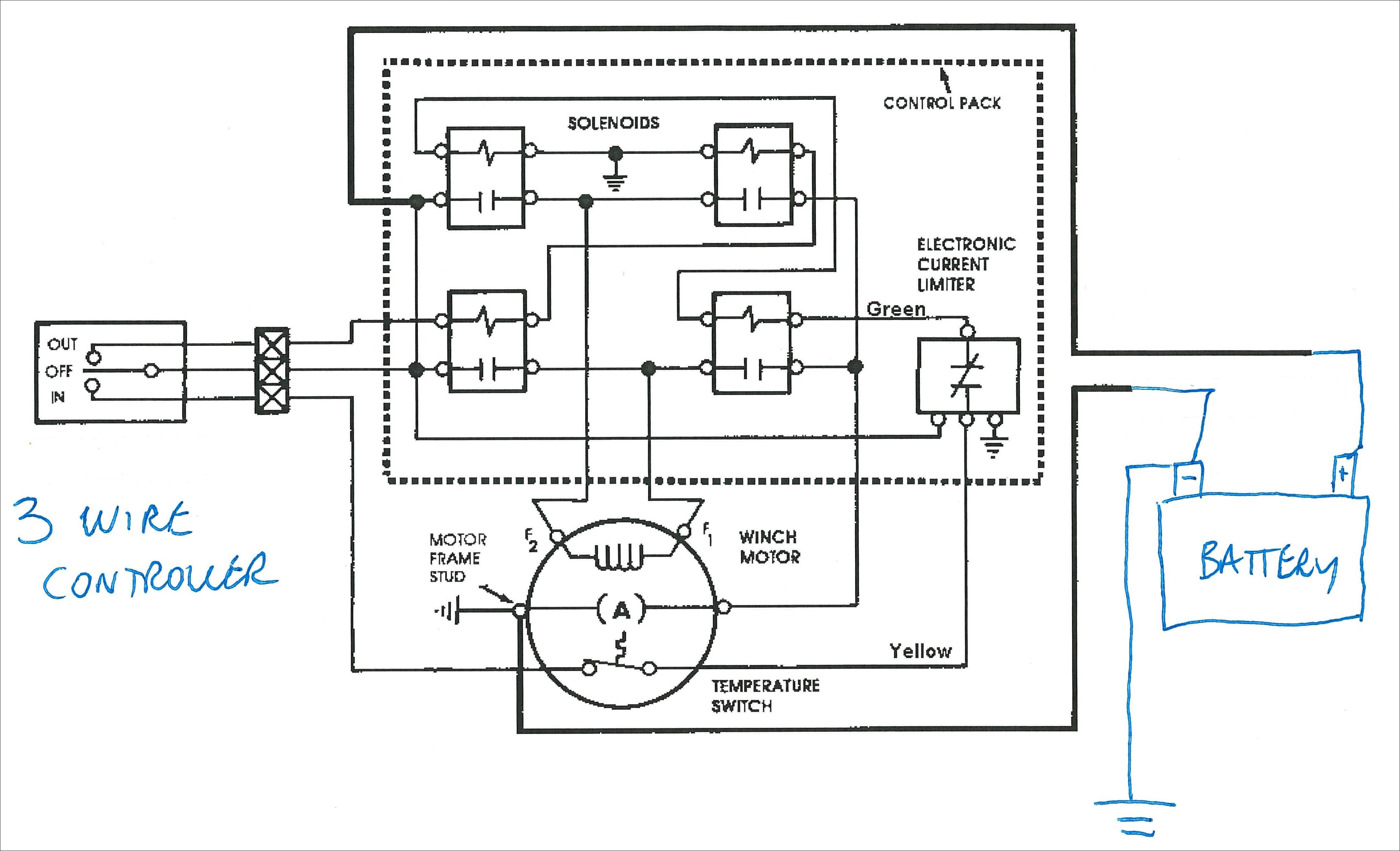 Warn Diagram Wiring Winch 1500 | Wiring Library - Warn Winch Wiring Diagram 4 Solenoid
