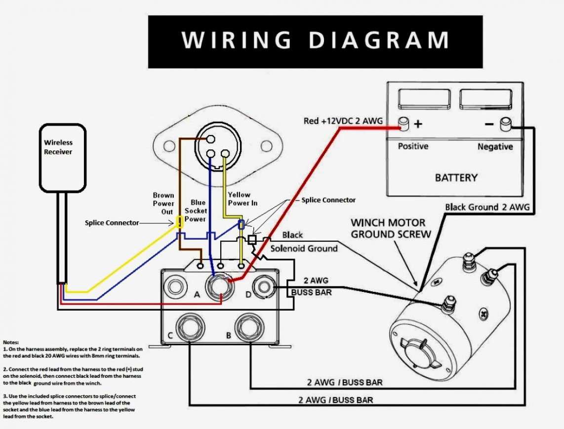 wiring schematic diagram guide winch wiring diagram