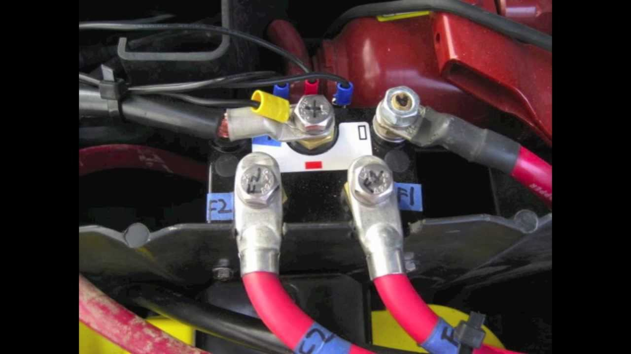 Warn Winch Rebuild Video #4, Albright Solenoid Install - Youtube - 12 Volt Winch Solenoid Wiring Diagram
