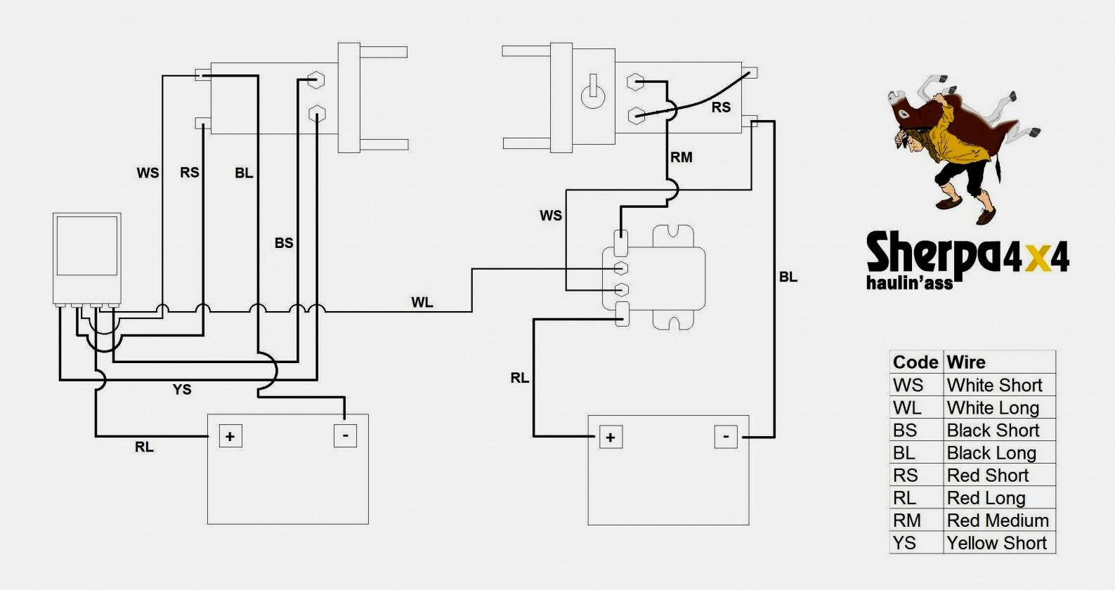 Warn Winch Wiring Diagram | Best Wiring Library - Warn Winch Wiring Diagram 4 Solenoid