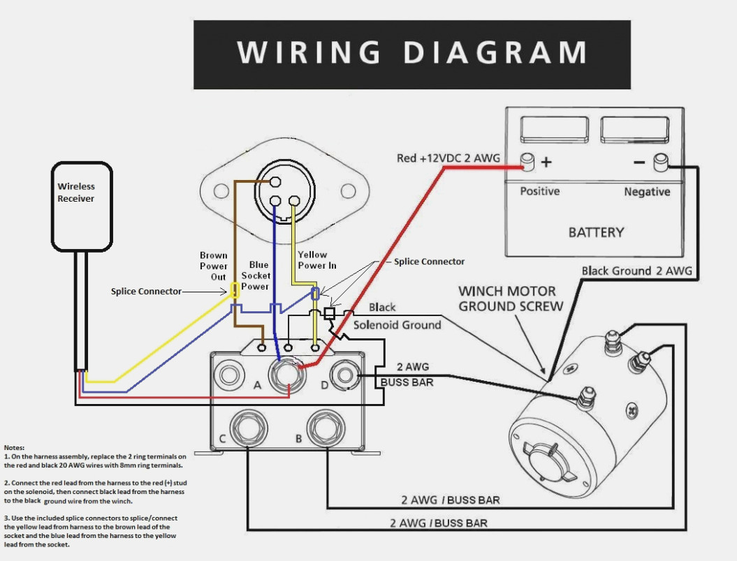 Warn Winch Wiring Diagram Solenoid   Manual E-Books - Warn Winch Wiring Diagram Solenoid