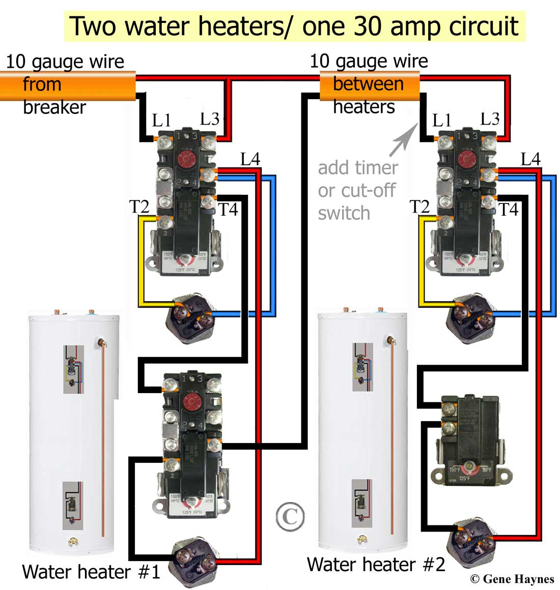 Water Heater Wire Diagram Inside - Solution Of Your Wiring Diagram - Electric Water Heater Wiring Diagram
