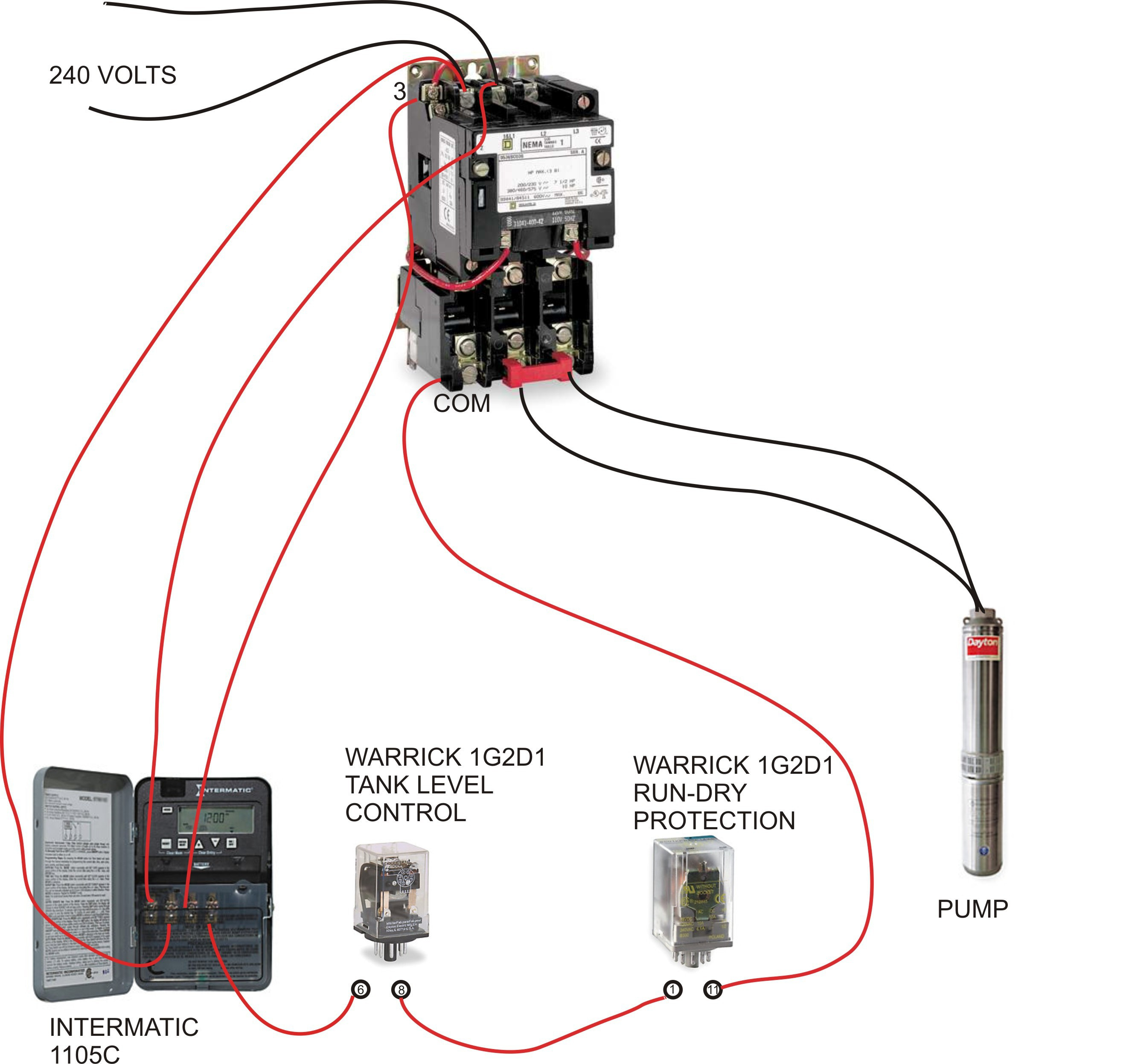 Water Pump Pressure Switch Diagram - Wiring Diagrams - Water Pump Pressure Switch Wiring Diagram