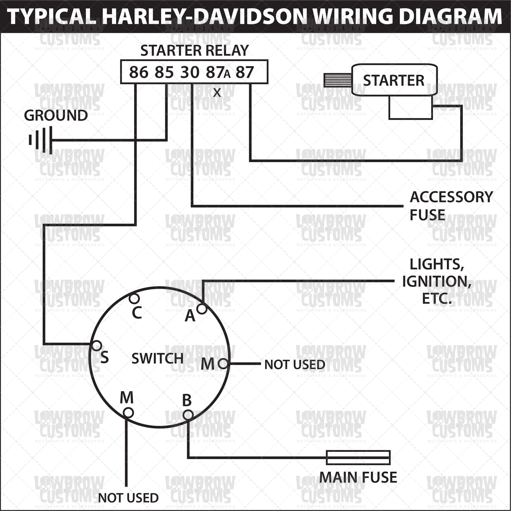 Weatherpoof Starter Ignition Switch With Key Wiring Diagram - Wiring - Ignition Switch Wiring Diagram