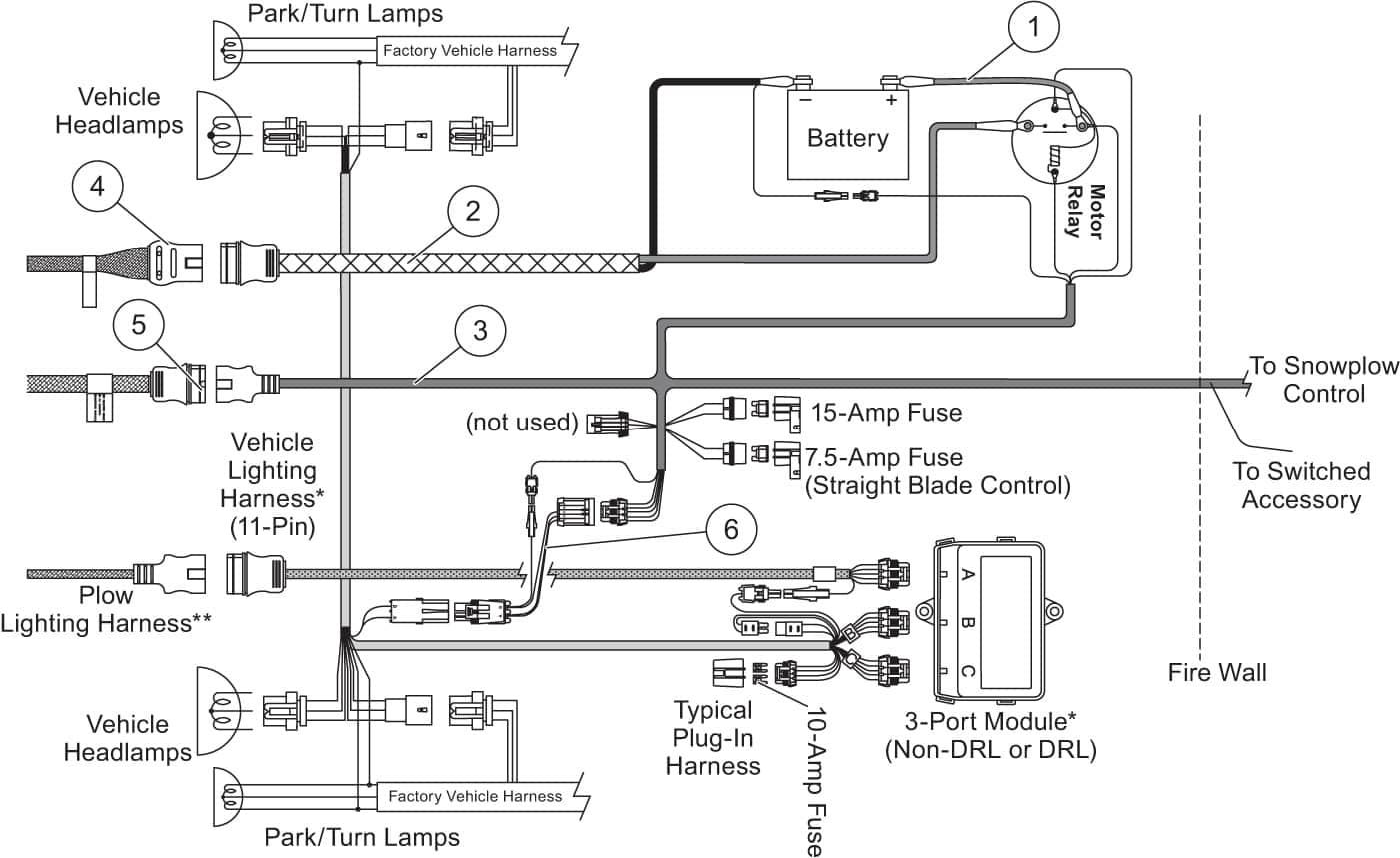 Western Plow Controller Wiring Diagram - Data Wiring Diagram Schematic - Western Plow Controller Wiring Diagram