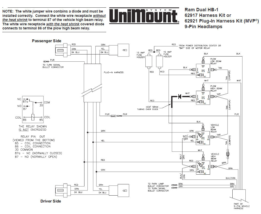 Western Plow Controller Wiring Diagram - Data Wiring Diagram Schematic - Western Plows Wiring Diagram