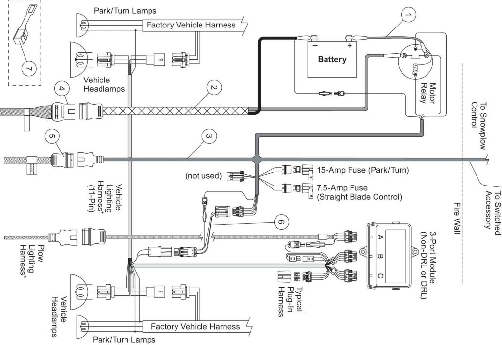 snow plow wiring diagram also boss snow plow light wiring diagram on Snow Plow Engine boss snow plow wiring diagram wirings diagramwestern plow light wiring diagram meyers snow harness and unimount