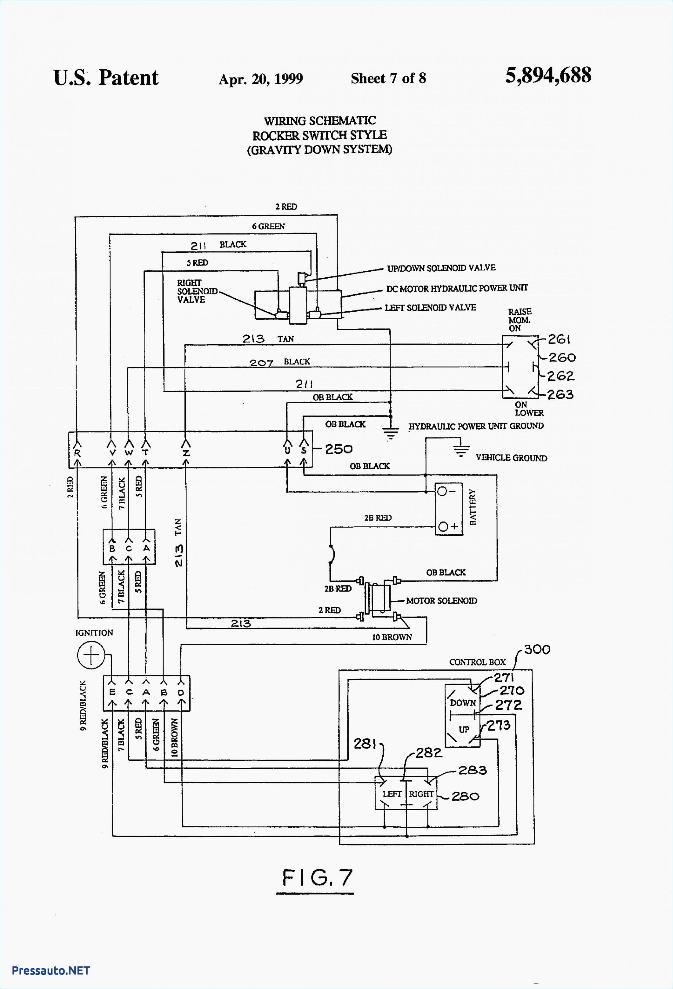 Western Snow Plow Relay Wiring Diagram - Wiring Diagrams Hubs - Western Plow Controller Wiring Diagram