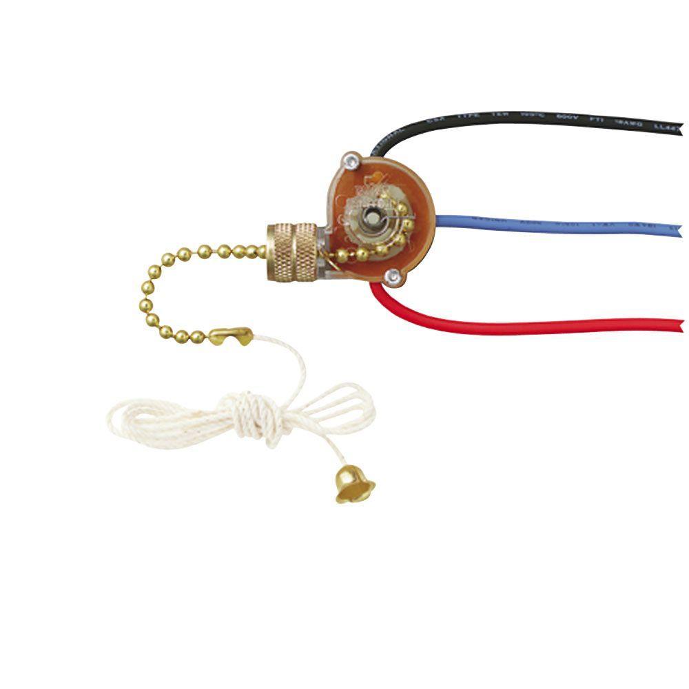 Westinghouse 3-Way Fan Light Switch - 4 Wire Ceiling Fan Switch Wiring Diagram