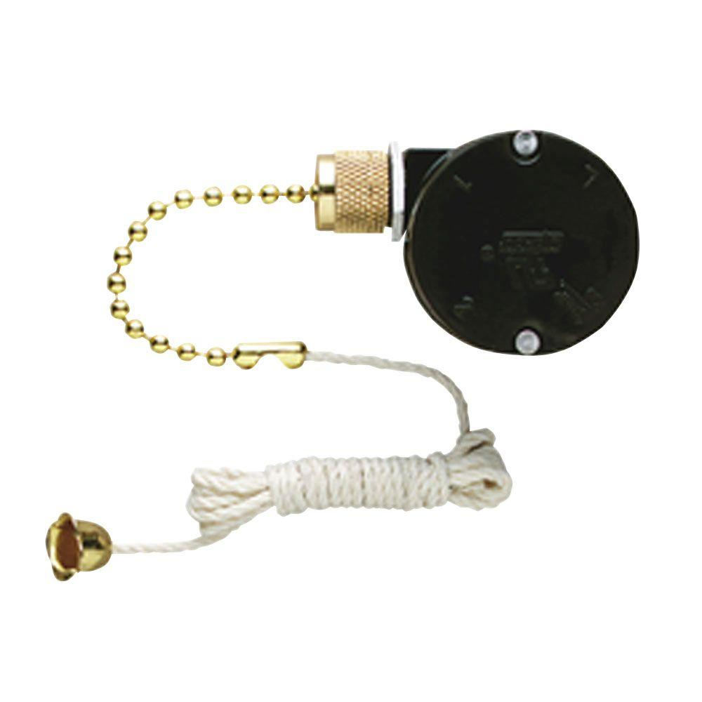 Westinghouse Replacement 3-Speed Fan Switch With Pull Chain For - 3 Speed Pull Chain Switch Wiring Diagram
