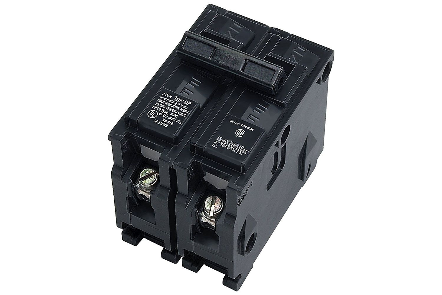What Are Double-Pole Circuit Breakers? - Double Pole Circuit Breaker Wiring Diagram