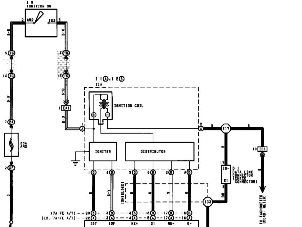 Enjoyable Toyota Igniter Wiring Diagram Wirings Diagram Wiring Cloud Hisonuggs Outletorg