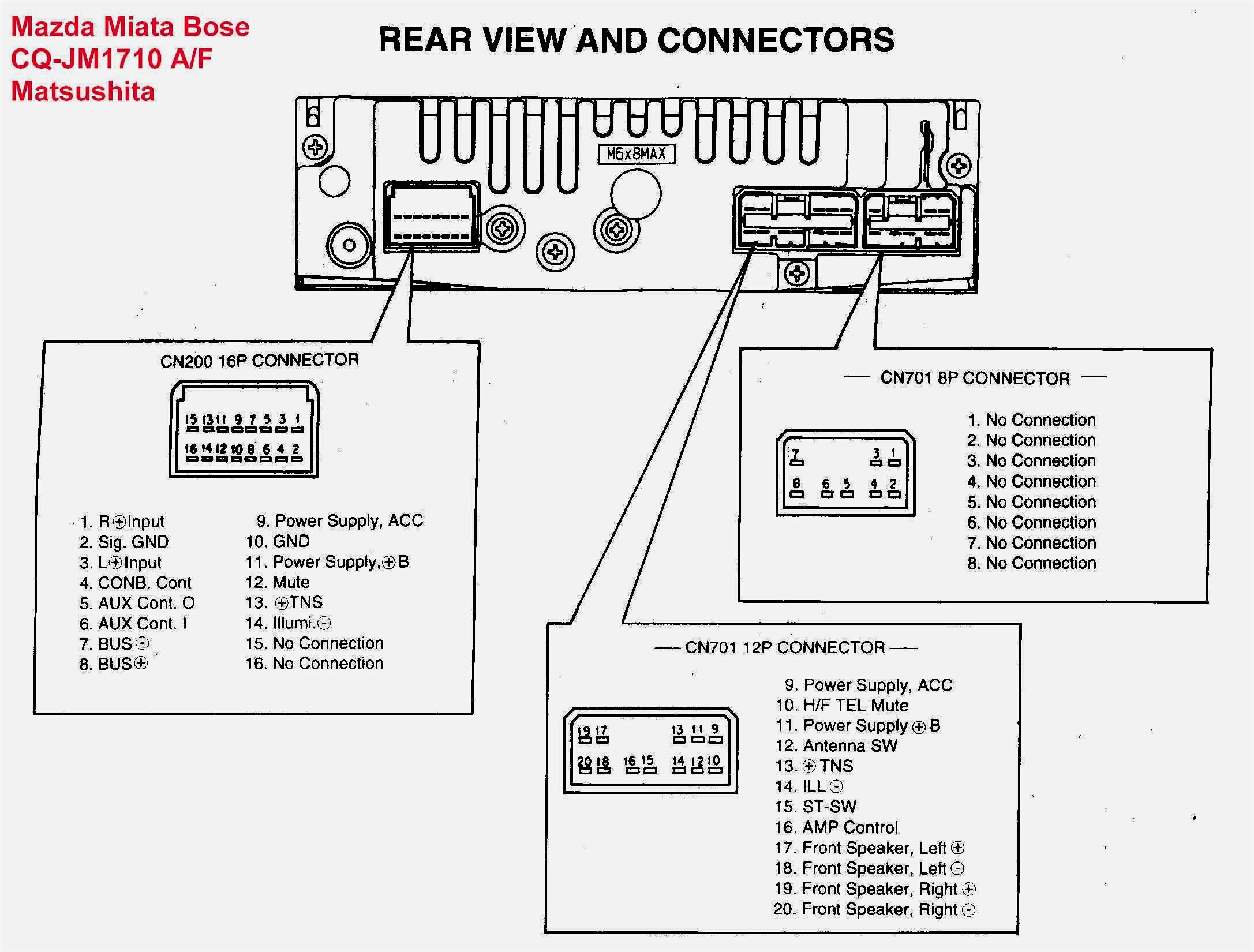 What Wires Are The Front Speakers On A Car Pioneer Stereo Wiring - Pioneer Radio Wiring Diagram Colors
