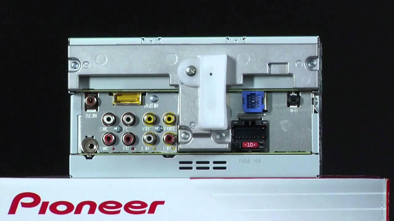 What's In The Box - Avh-P2300Dvd Dvd Receiver - Youtube - Pioneer Avh P2300Dvd Wiring Diagram