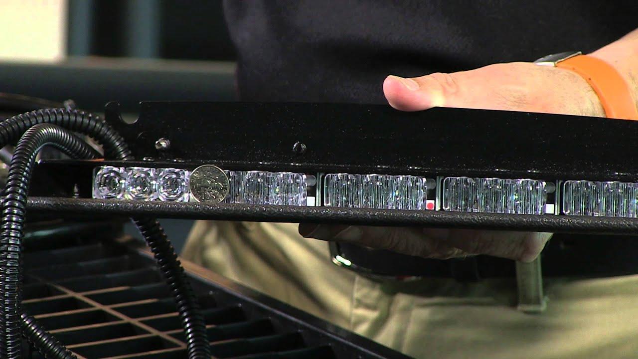 Whelen Inner-Edge Xlp Ten 3-Led W/tds 2-Piece Lightbar - Youtube - Whelen Light Bar Wiring Diagram