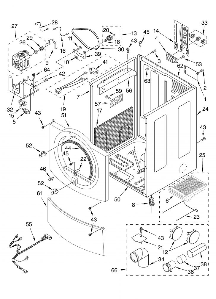 Wiring Diagram Whirlpool Dryer Model Wgd4800bq