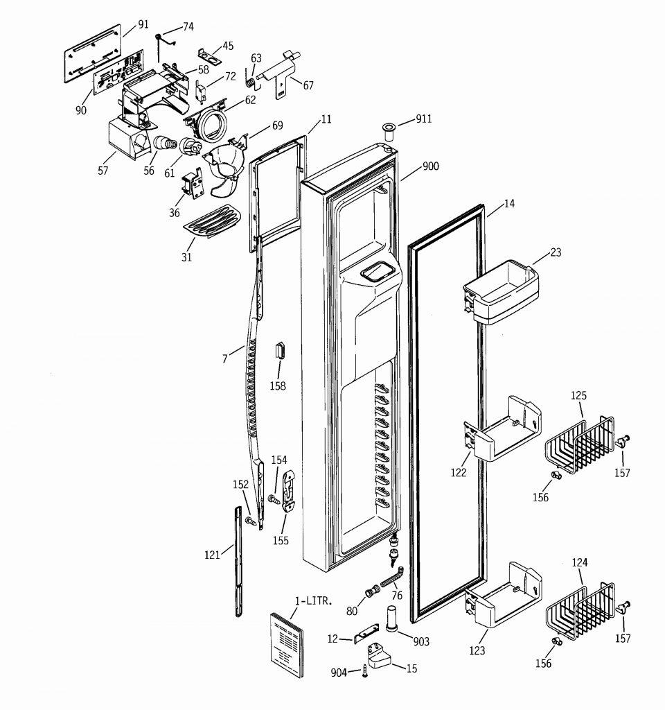 Whirlpool Refrigerator Wiring Diagram | Wirings Diagram on