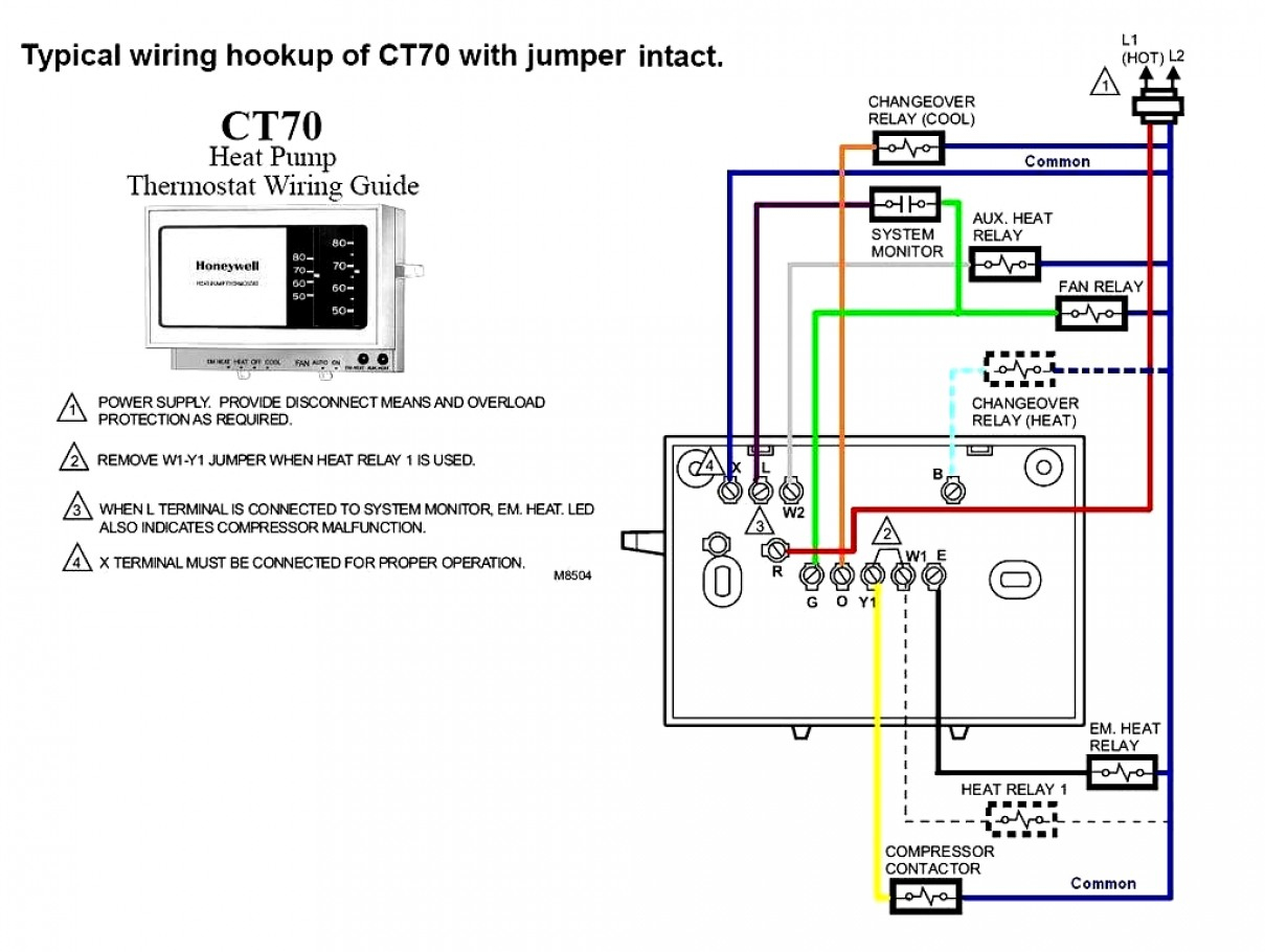 White Rogers Heat Pump Wiring Diagram | Manual E-Books - White Rodgers Thermostat Wiring Diagram