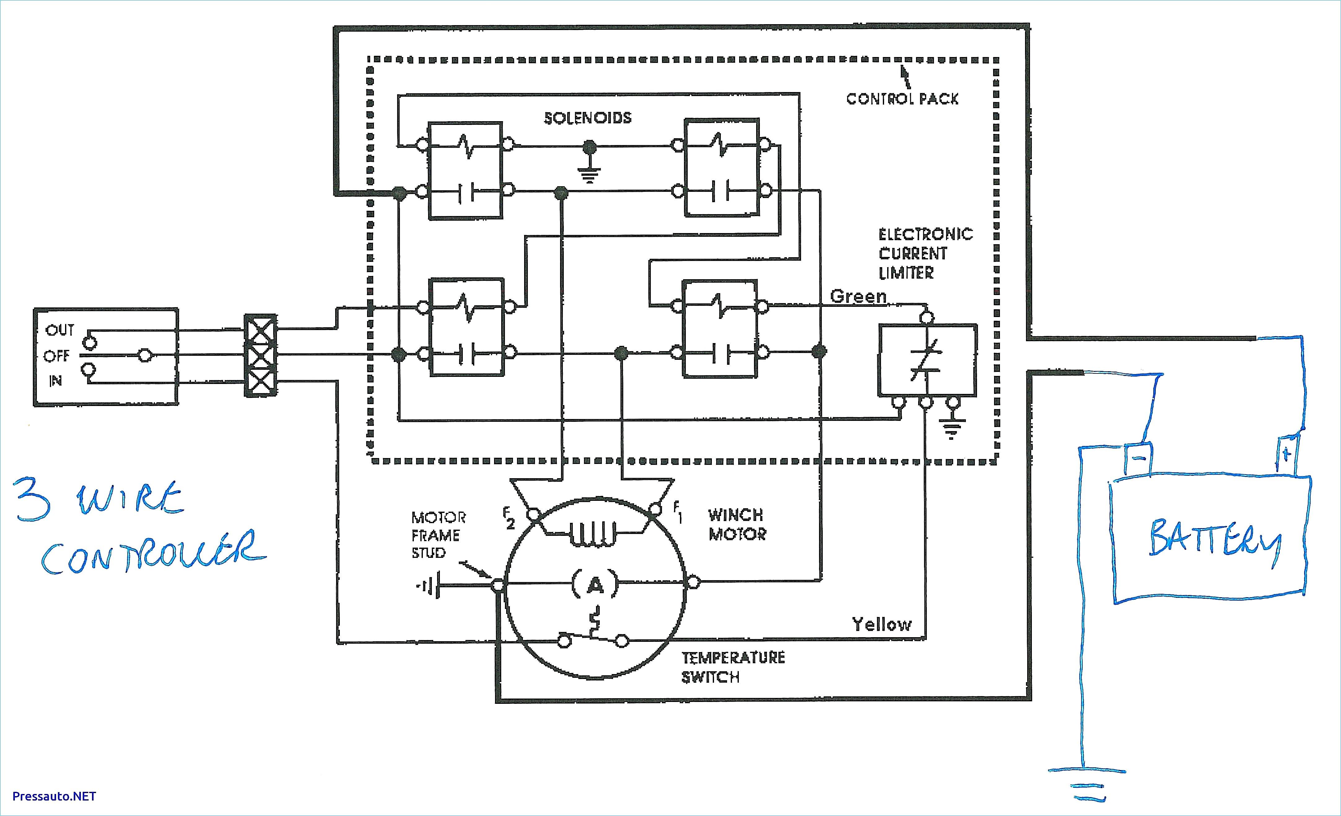 Winch Relay Wiring Diagram - Warn Winch Wiring Diagram Solenoid