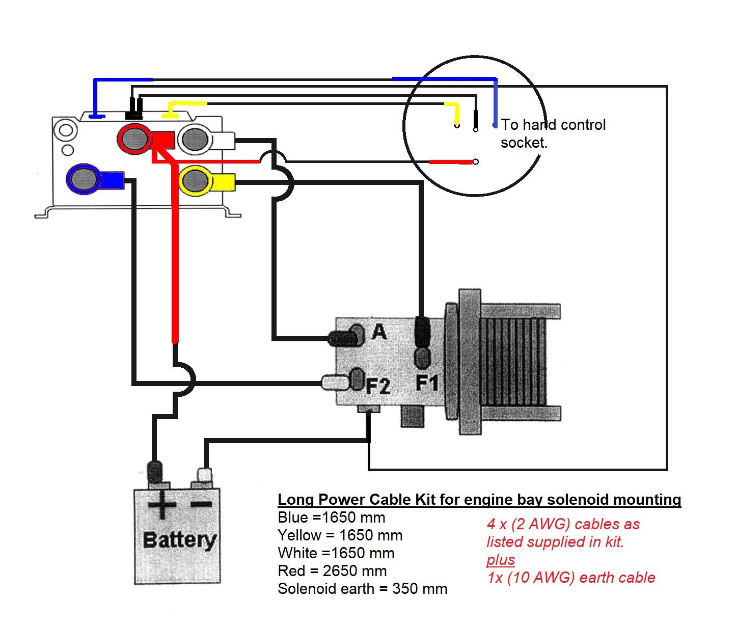 Winch Wiring Kit - Winch Solenoid Wiring Diagram