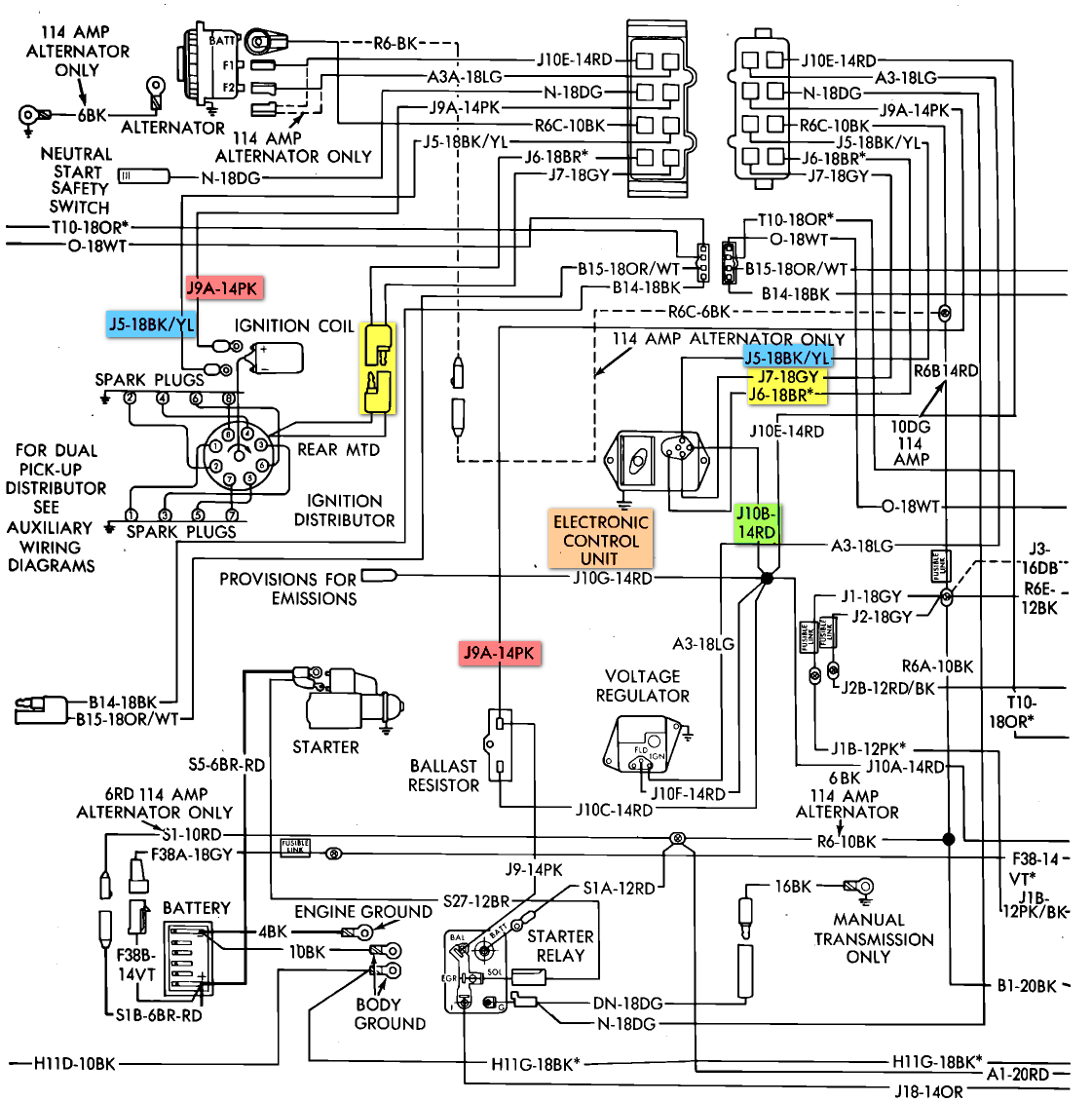 Winnebago Wiring Harness | Manual E-Books - Winnebago Motorhome Wiring Diagram