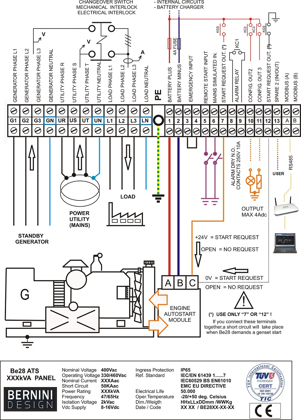 Wire Diagram For Transfer Switch   Wiring Library - Generac Generator Wiring Diagram