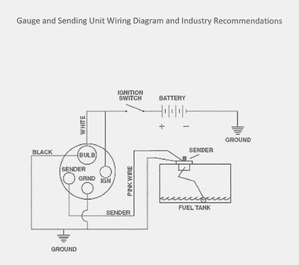 Wire Size Diagram | Wiring Library - Fuel Sending Unit Wiring Diagram