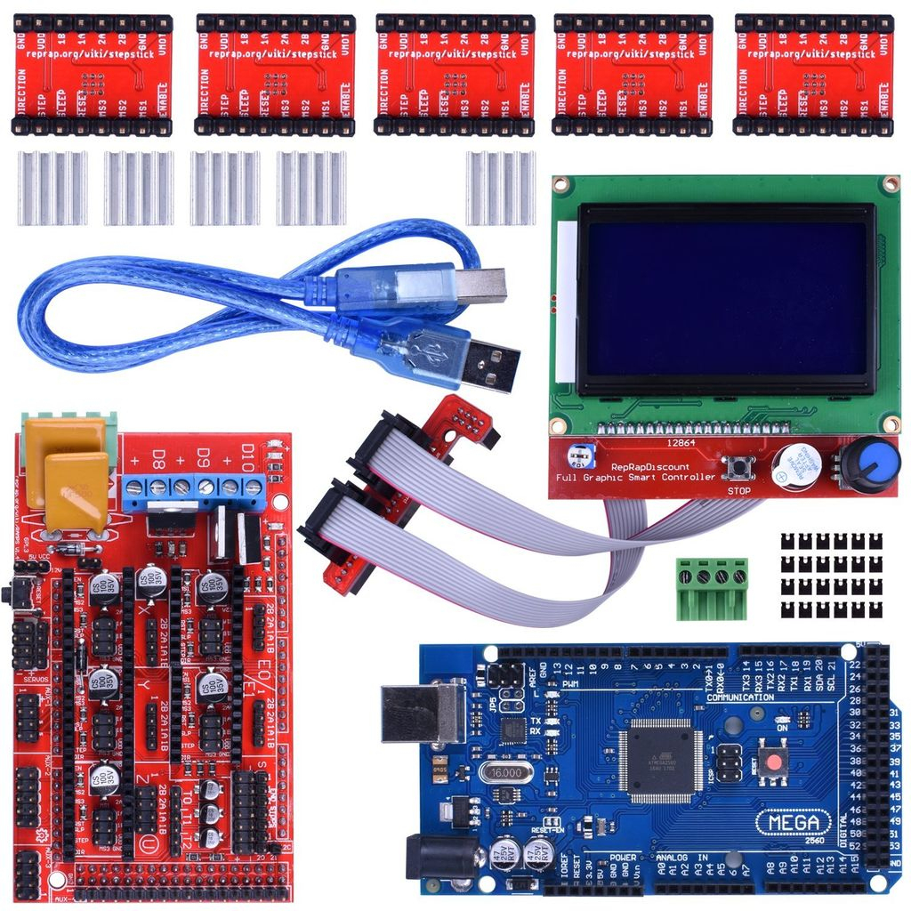 Wiring 3D Printer Ramps 1.4: 12 Steps (With Pictures) - Ramps 1.4 Wiring Diagram