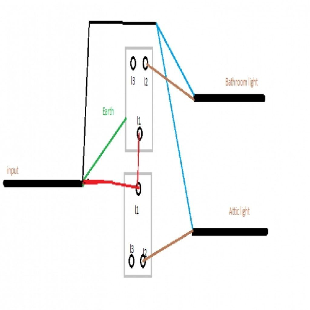Wiring A 2 Gang Light Switch | Wiring Diagram | Wiring Diagram - Light Switch Wiring Diagram