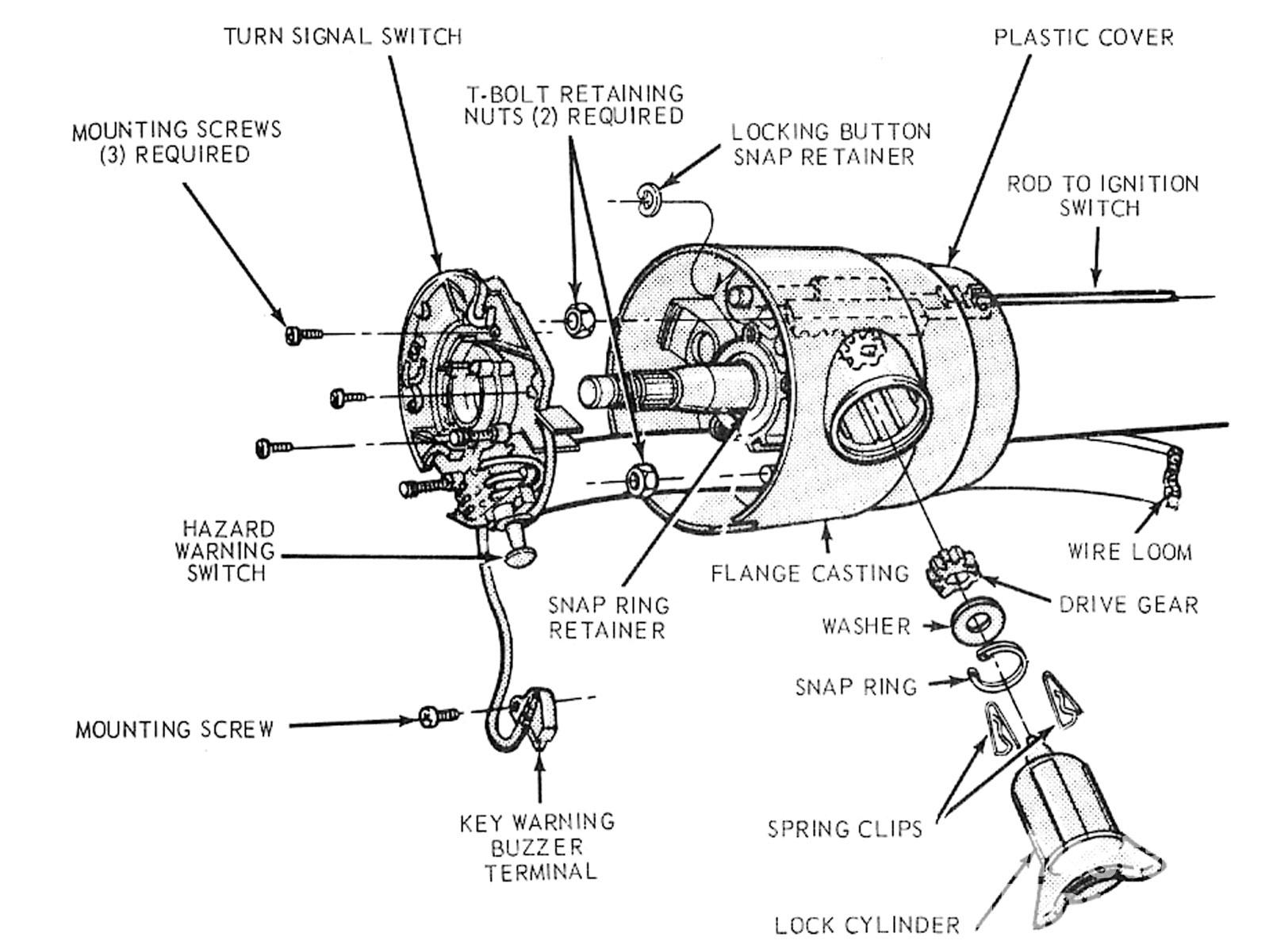 Wiring Adapter F100 To Gm Column | Wiring Diagram - Gm Steering Column Wiring Diagram