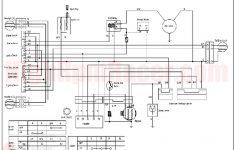 Wiring Diagram 110Cc Atv Taotao And Tao 125 At Tao Tao 125 Atv   Chinese Atv Wiring Diagram 110