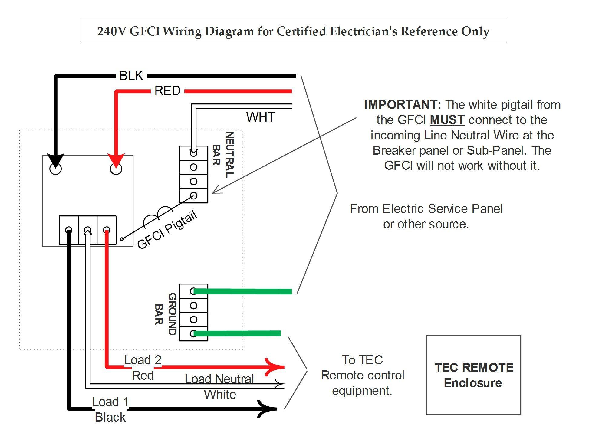 Wiring Diagram 2 Pole Gfci Breaker Recent Gfci Breaker Wiring - 2 Pole Gfci Breaker Wiring Diagram