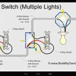 Wiring Diagram 3 Way Switch With 2 Lights For A Extraordinary 3Way   3 Way Switch Wiring Diagram Power At Switch