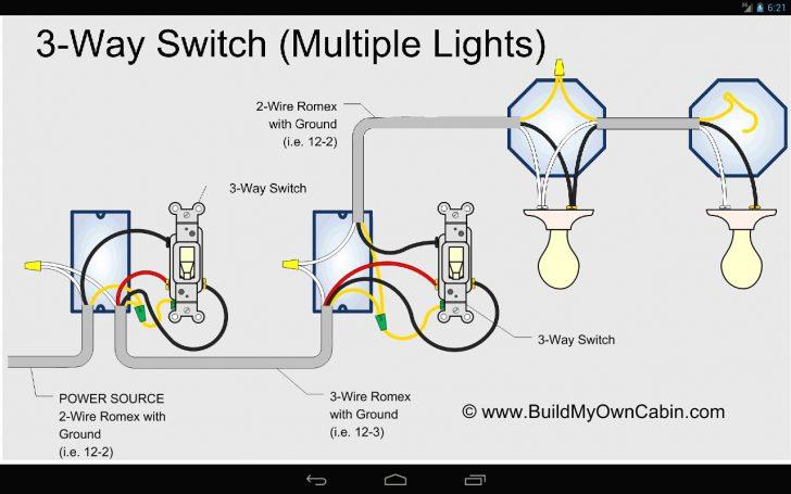4 Way Light Switch Wiring Diagram