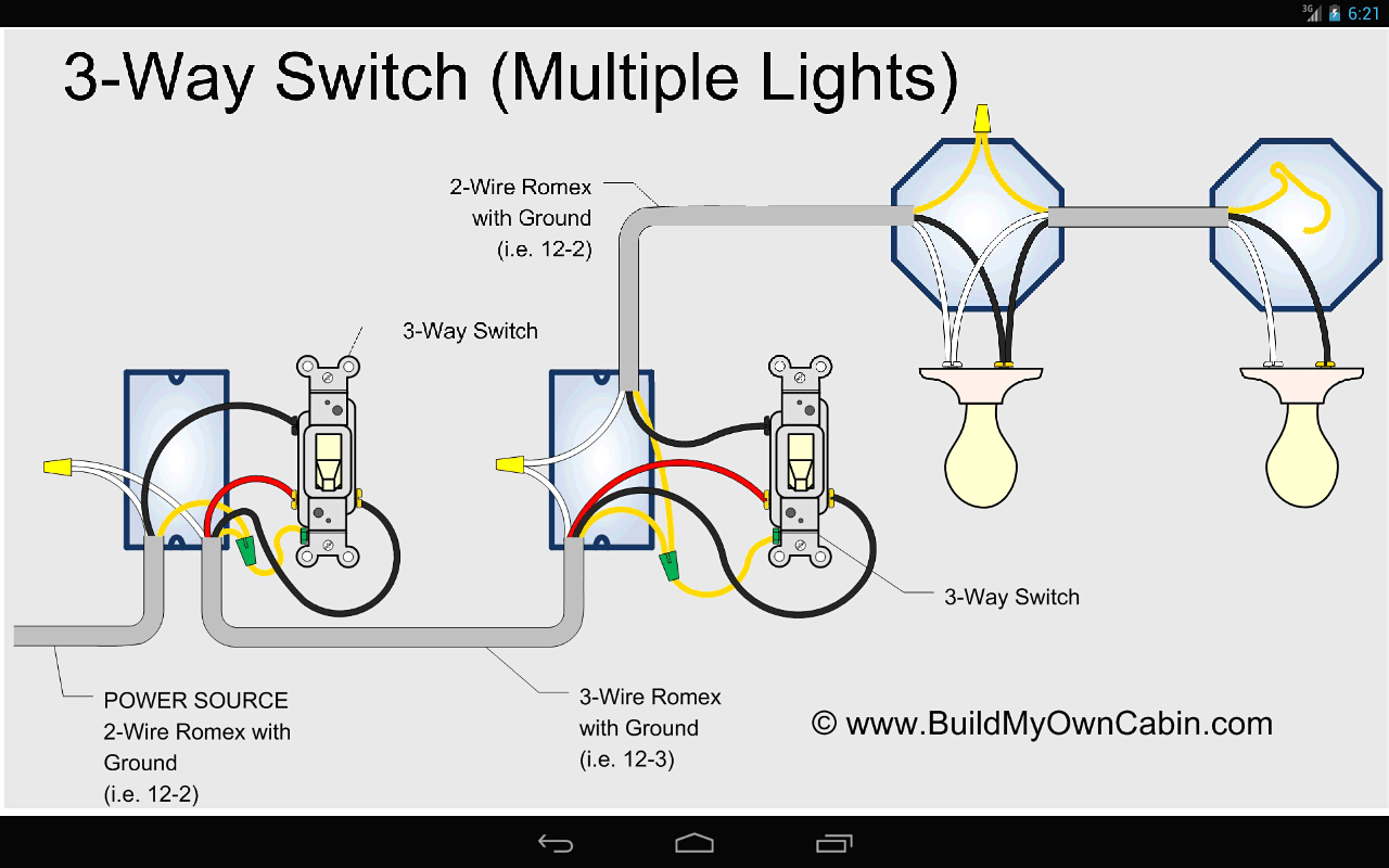 Wiring Diagram 3 Way Switch With 2 Lights For A Extraordinary 3Way - 4 Way Light Switch Wiring Diagram