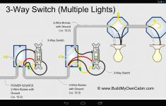 Wiring Diagram 3 Way Switch With 2 Lights For A Extraordinary 3Way   4 Way Switch Wiring Diagram