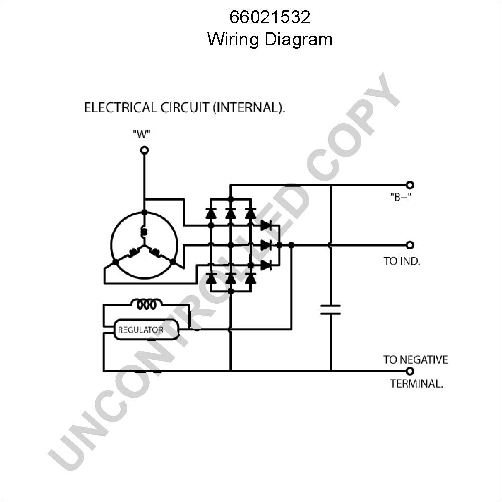 Wiring Diagram Alternator Voltage Regulator Fresh 4 Wire Auto - Alternator Wiring Diagram