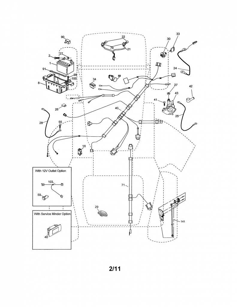 Wiring Diagram Craftsman Model 917 275671 | Manual E-Books - Craftsman Lawn Mower Model 917 Wiring Diagram