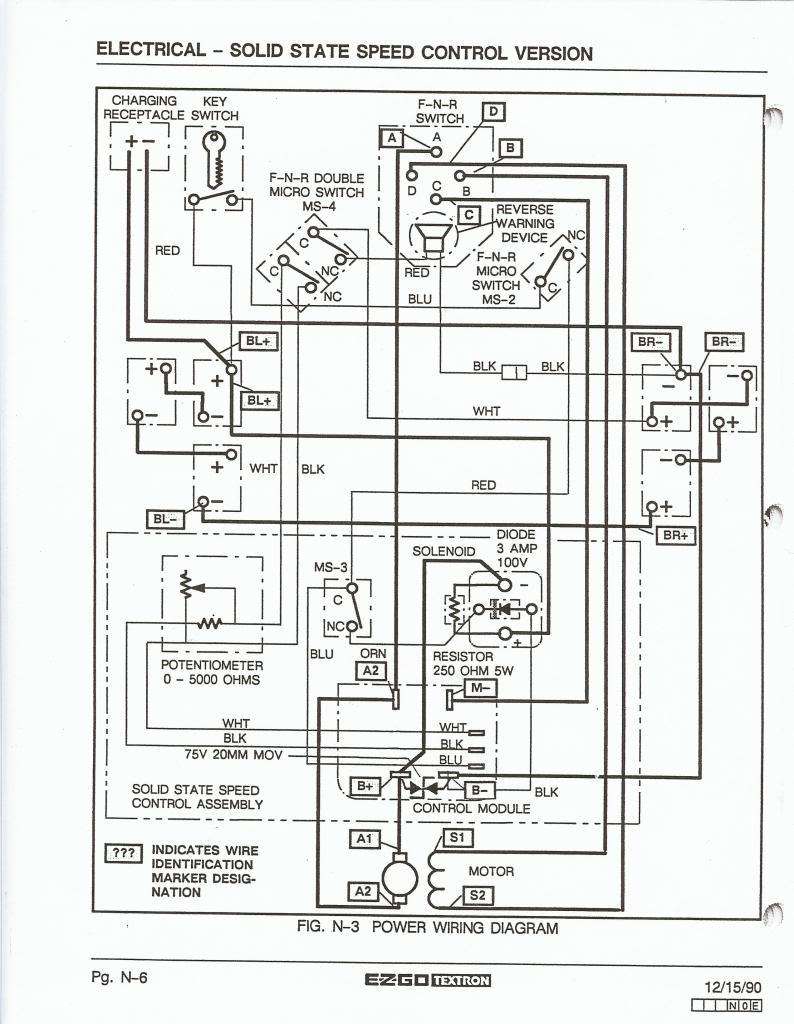 Wiring Diagram Ezgo Golf Cart Ez Go At Electric - Wiring Diagrams - Ezgo Wiring Diagram
