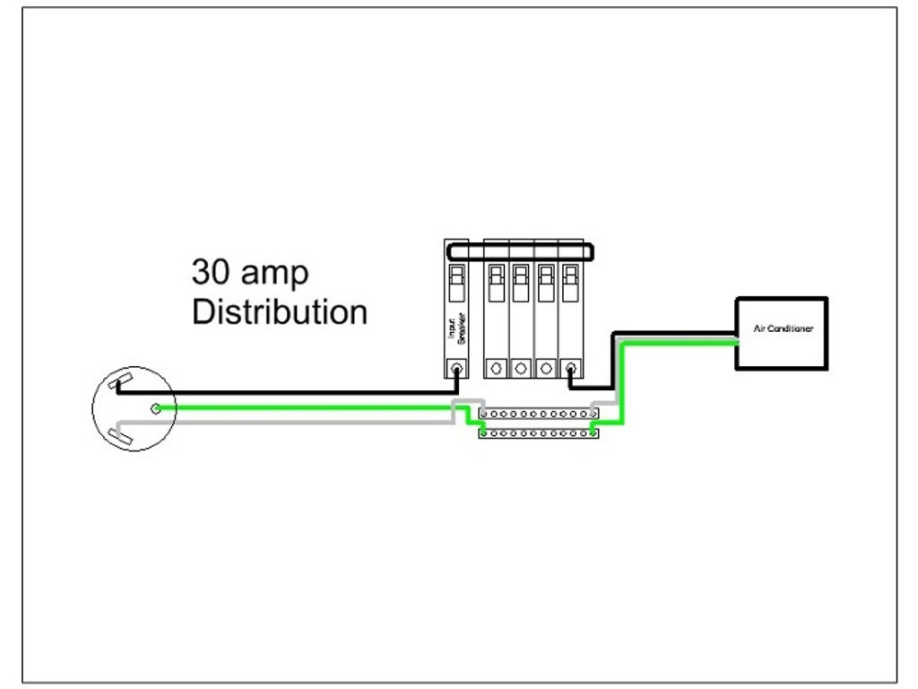 Wiring Diagram For 30 Amp Rv Receptacle | Wiring Diagram - 50 Amp To 30 Amp Rv Adapter Wiring Diagram