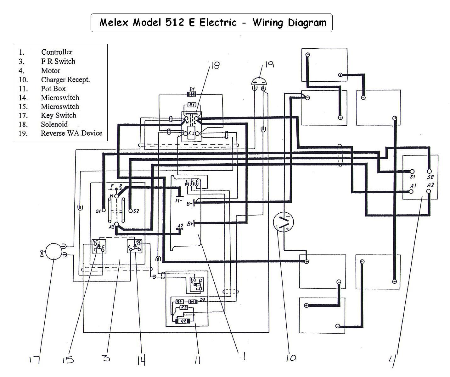 Wiring Diagram For 36 Volt Golf Cart | Manual E-Books - Golf Cart Wiring Diagram