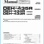 Wiring Diagram For A Pioneer Deh X6600Bt   Schematics Wiring Diagram   Pioneer Deh X6600Bt Wiring Diagram