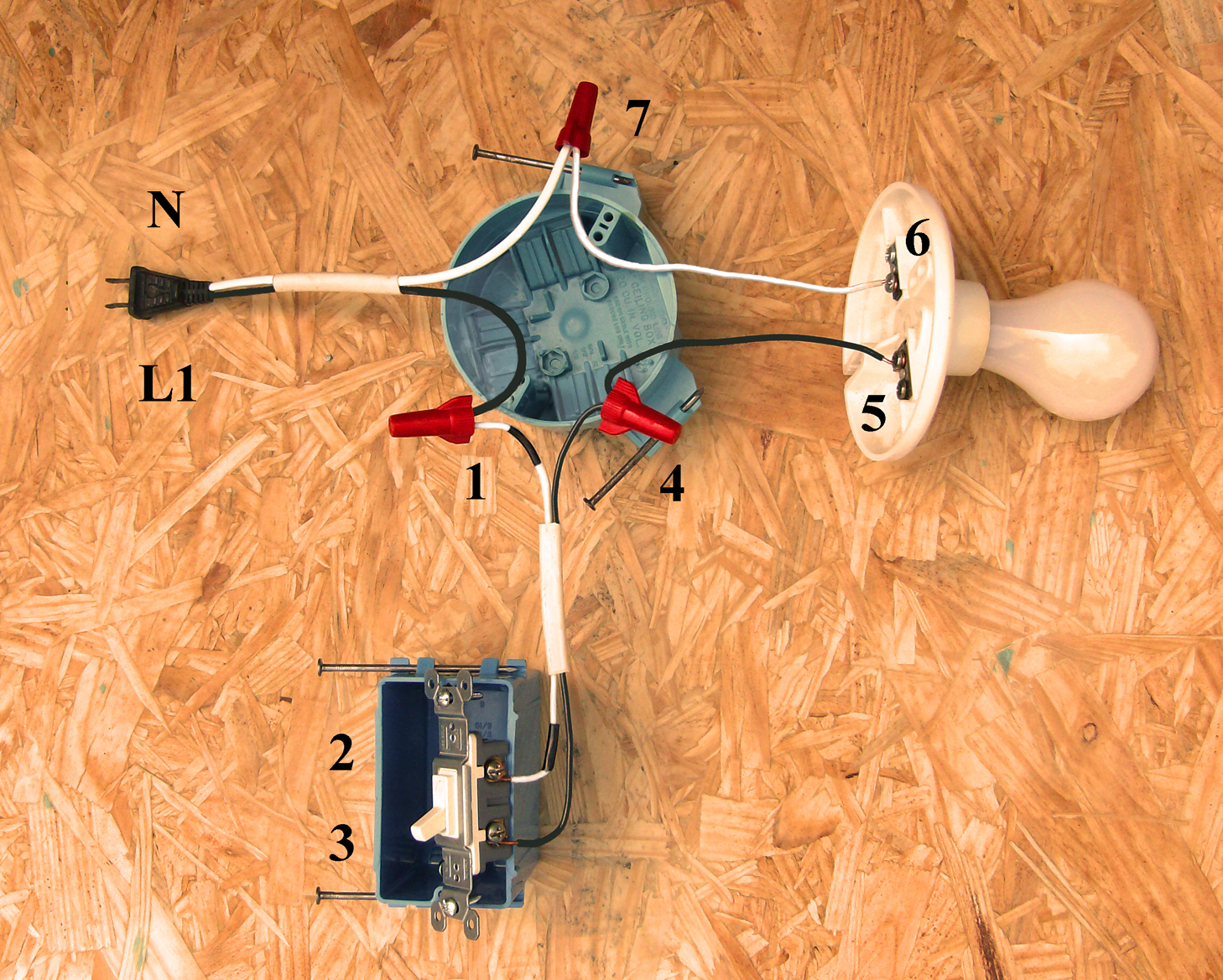 Wiring Diagram For A Single Pole Light Switch | Wiring Diagram - Single Pole Switch Wiring Diagram