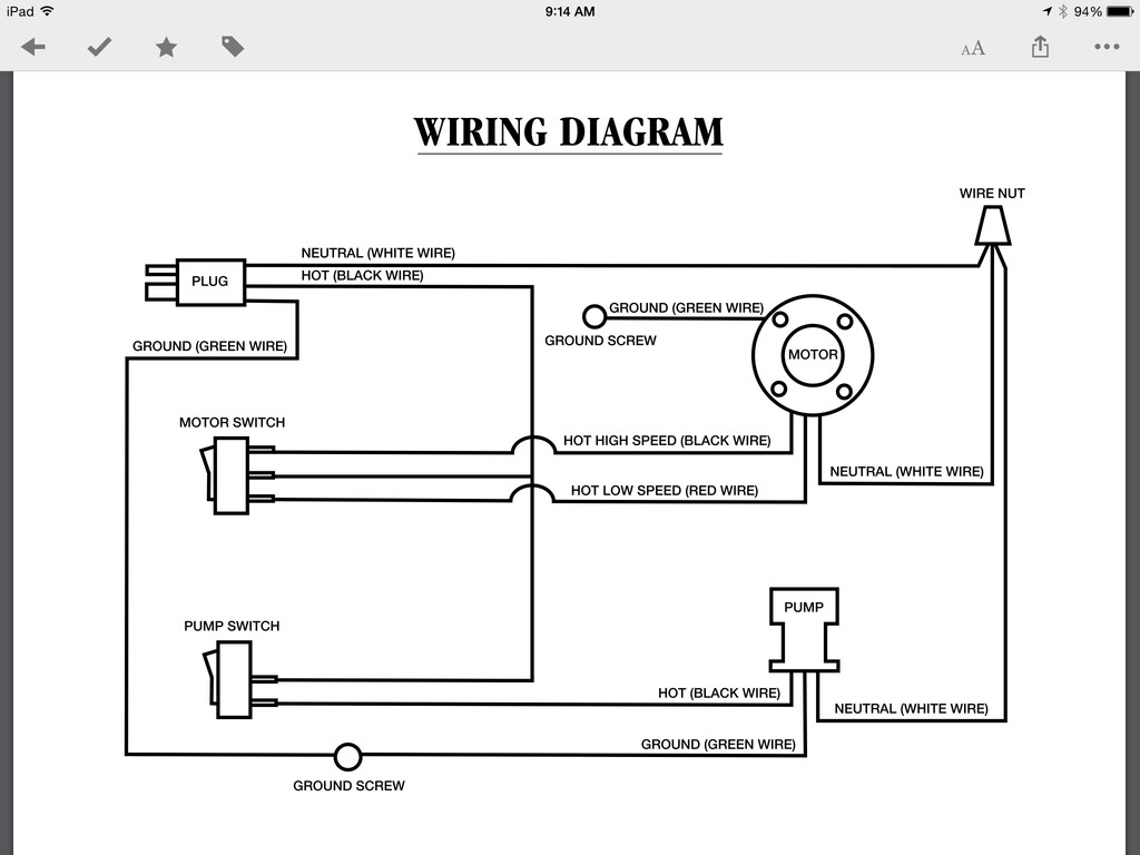 Wiring Diagram For A Swamp Cooler   Manual E-Books - Swamp Cooler Switch Wiring Diagram