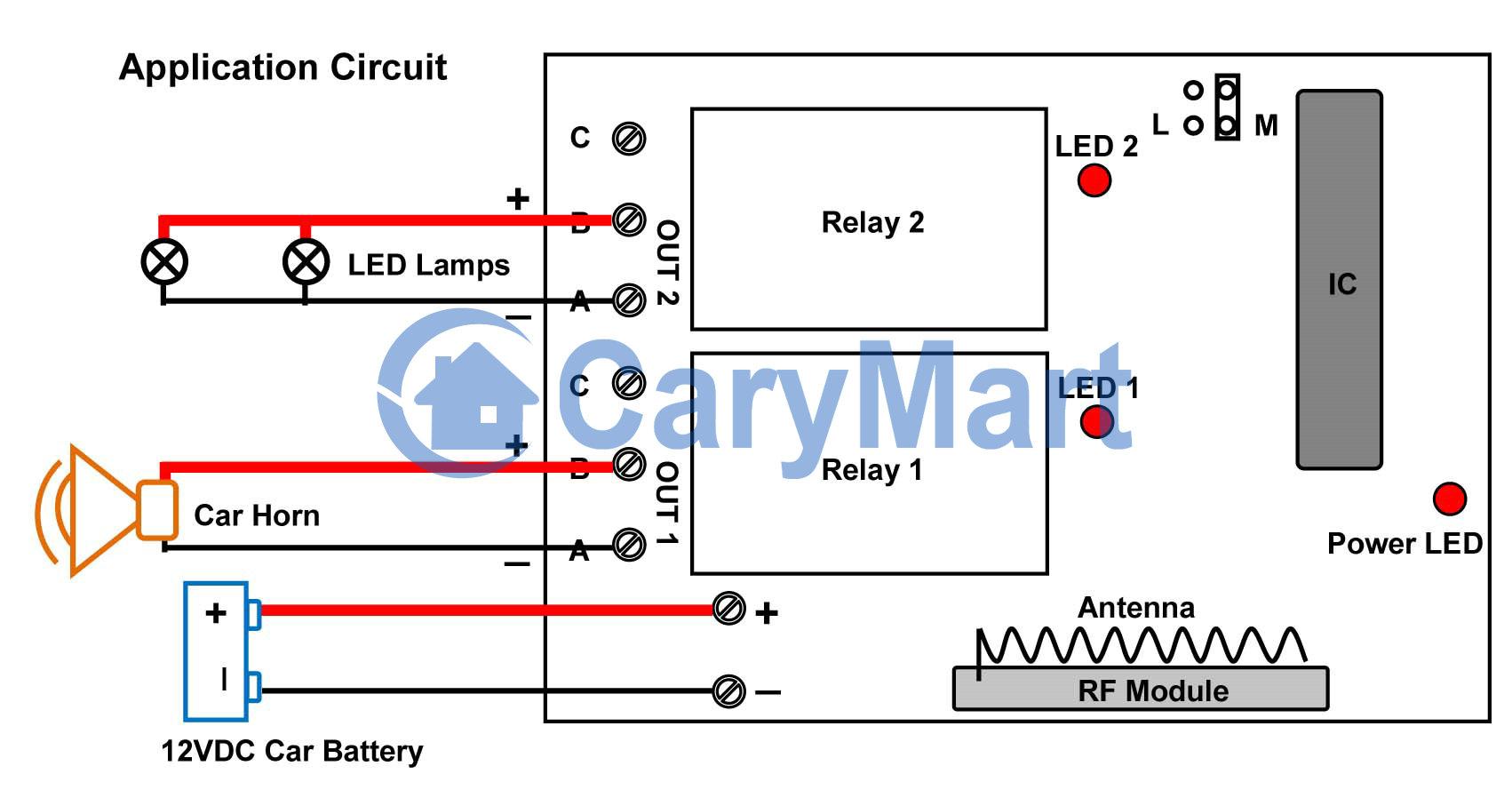 Wiring Diagram For Car Horn | Manual E-Books - Car Horn Wiring Diagram