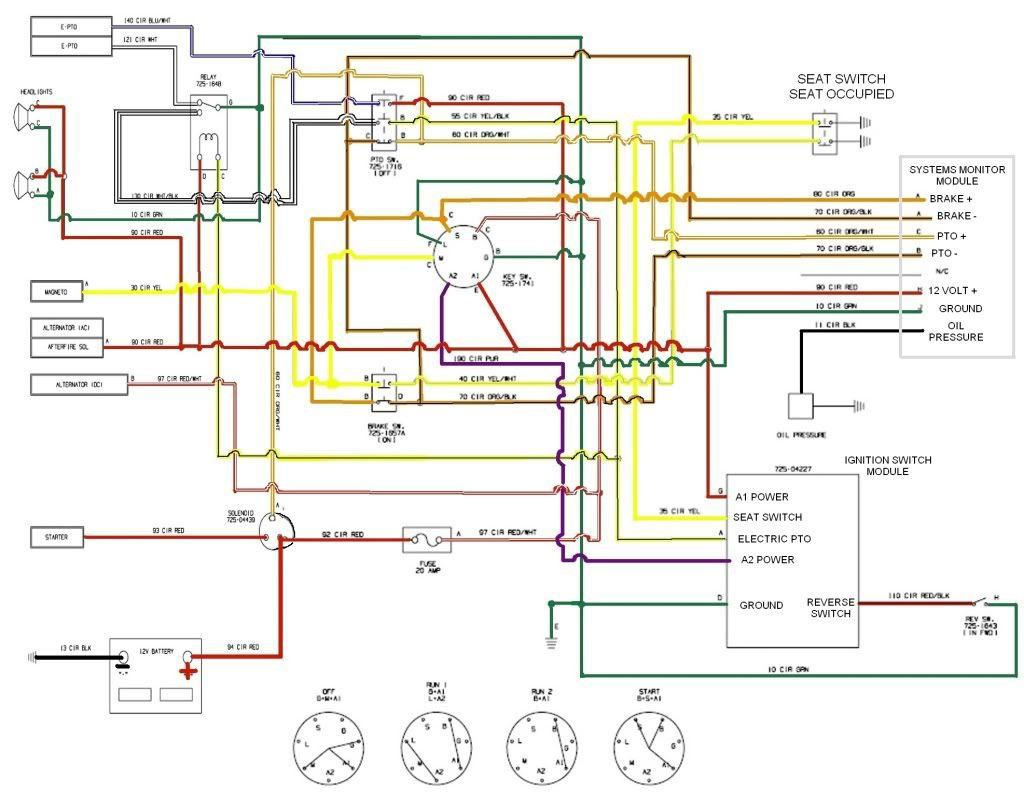 Wiring Diagram For Craftsman Lawn Mower Throughout Lt2000 - Tryit - Craftsman Lt2000 Wiring Diagram